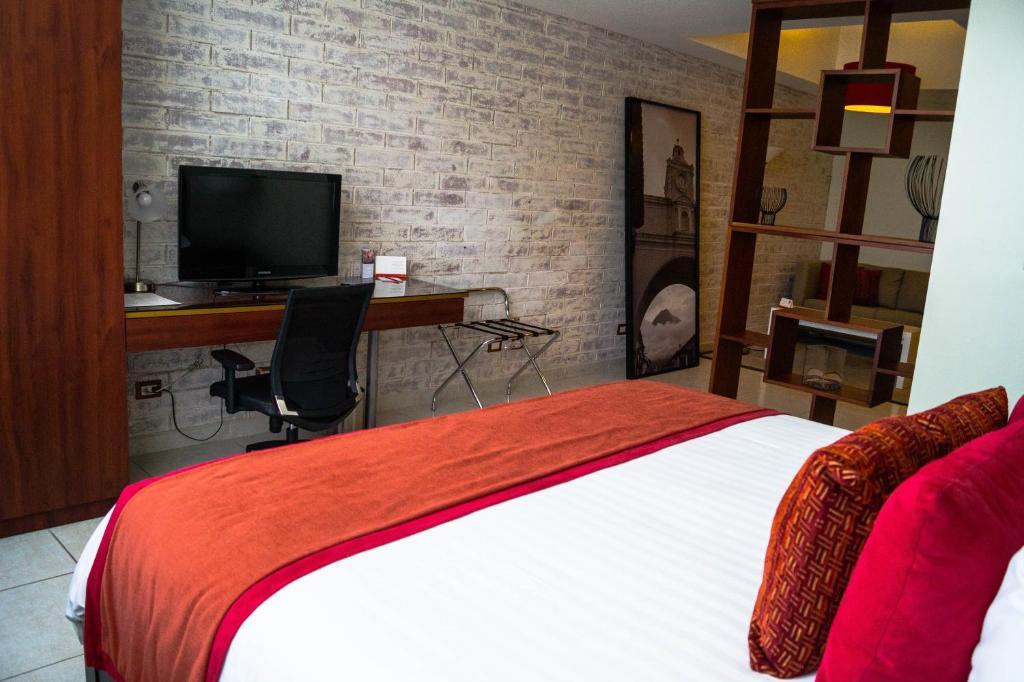 A room at the Adriatika Hotel Boutique.