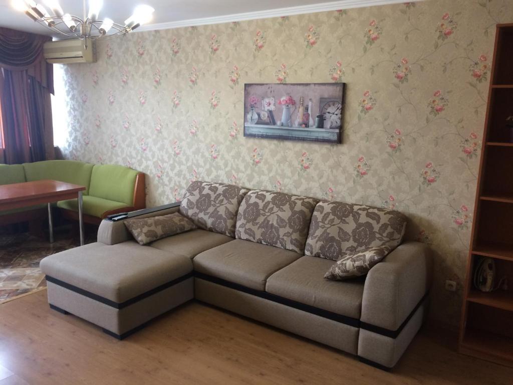 Гостиная зона в Apartments on Ostrovskogo 1