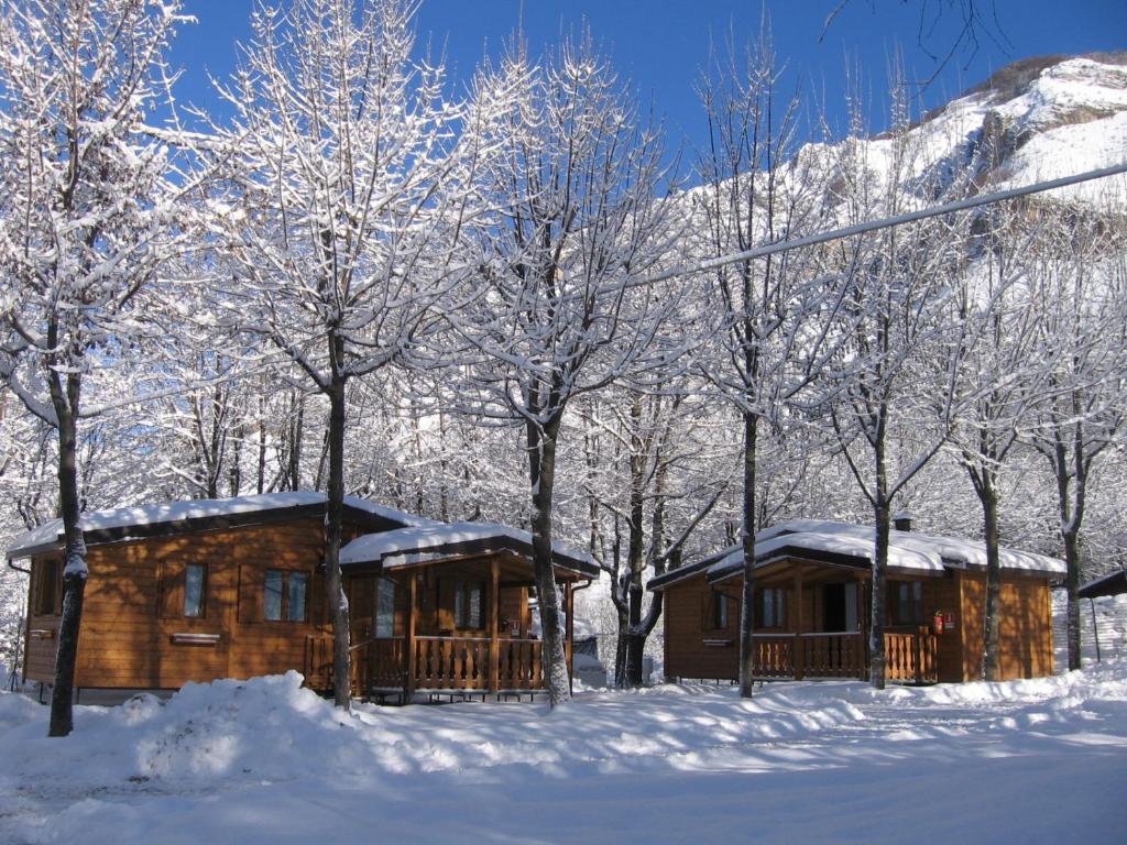 Campeggio Valle Gesso im Winter