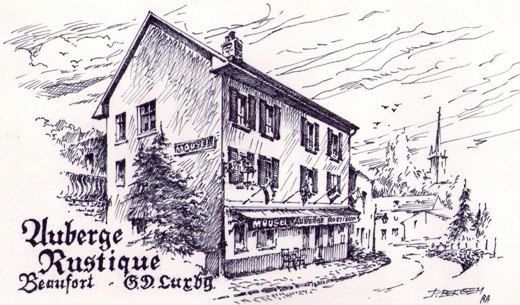 Hotel Auberge Rustique during the winter