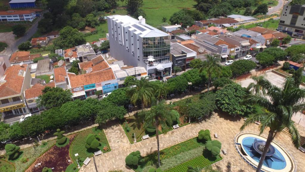 Uma vista aérea de Hotel Dorta's