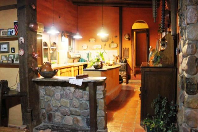 The lobby or reception area at Rincon del Valle