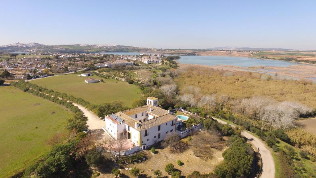 A bird's-eye view of Hacienda el Santiscal