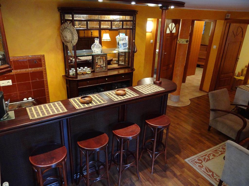 Restauracja lub miejsce do jedzenia w obiekcie Apartament Nadmorski Orłowo