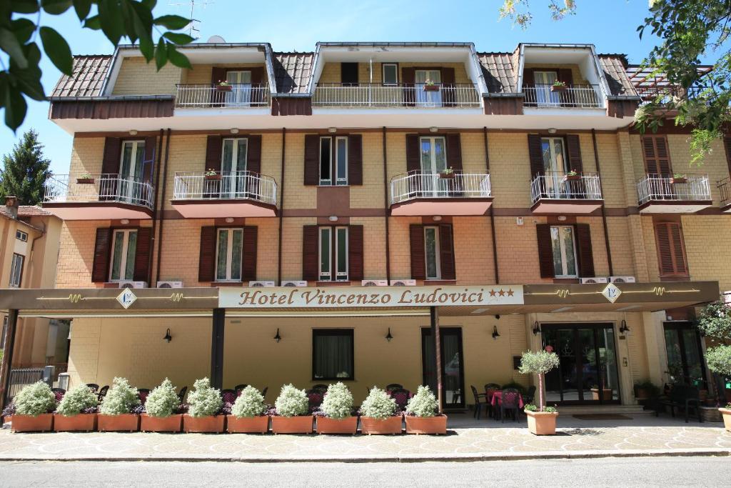 Hotel Ludovici Fiuggi, Italy