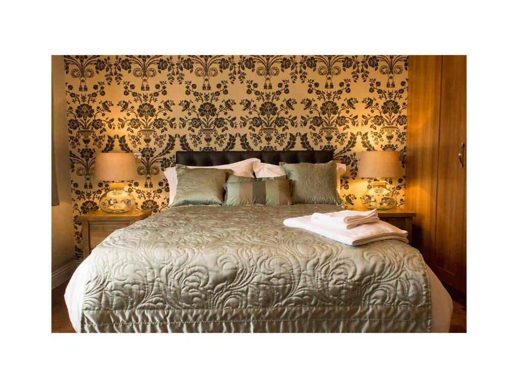 Un ou plusieurs lits dans un hébergement de l'établissement Sea View D4