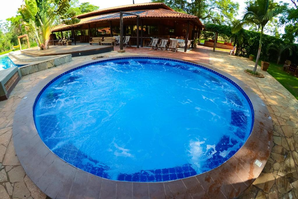The swimming pool at or near IPÊ Florido Parque Hotel