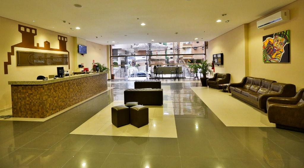 The lobby or reception area at Hotel Mont Rey
