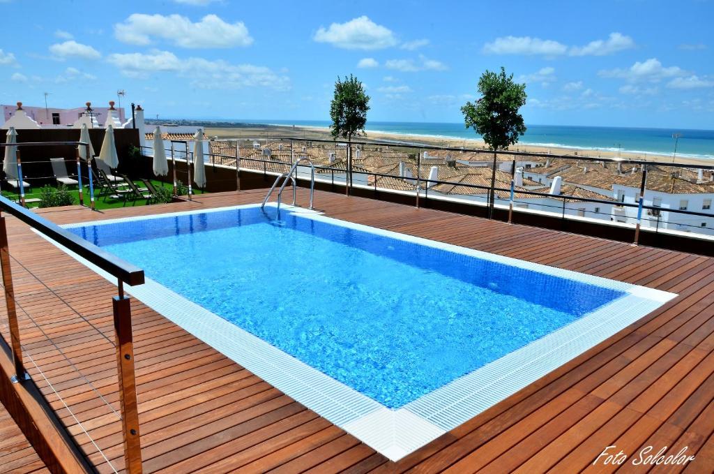 The swimming pool at or near Hotel y Apartamentos Conilsol