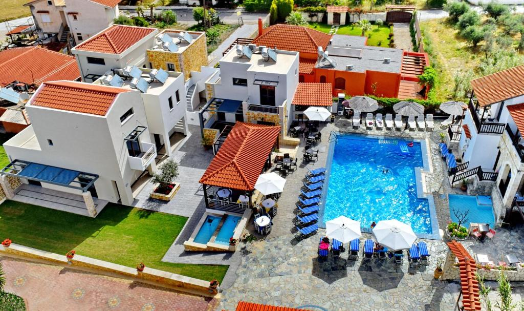 Vista aerea di Ledra Maleme Hotel