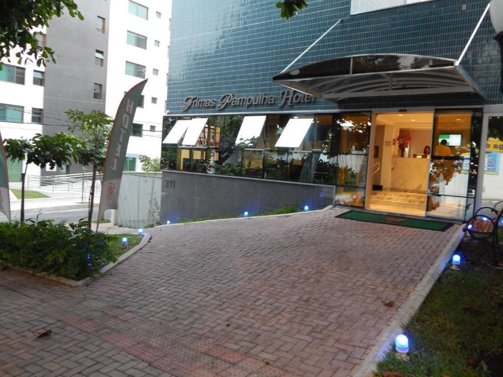 The swimming pool at or near Frimas Pampulha Hotel