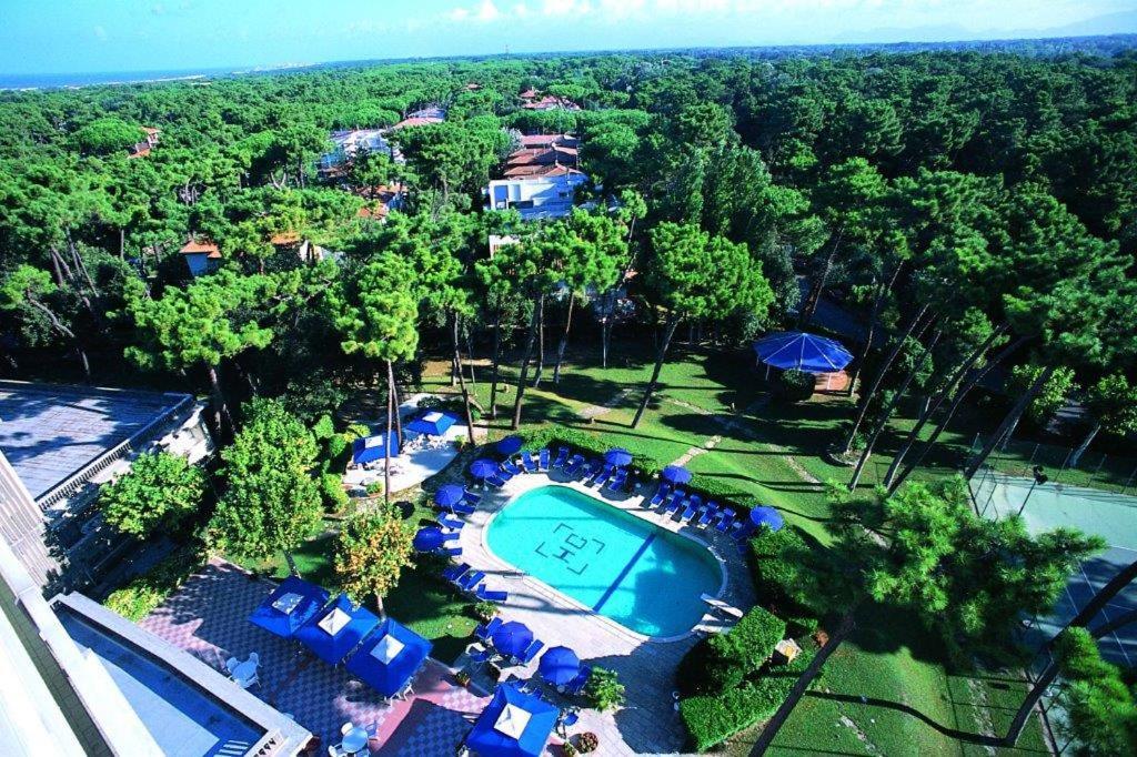 Vista aerea di Grand Hotel Golf