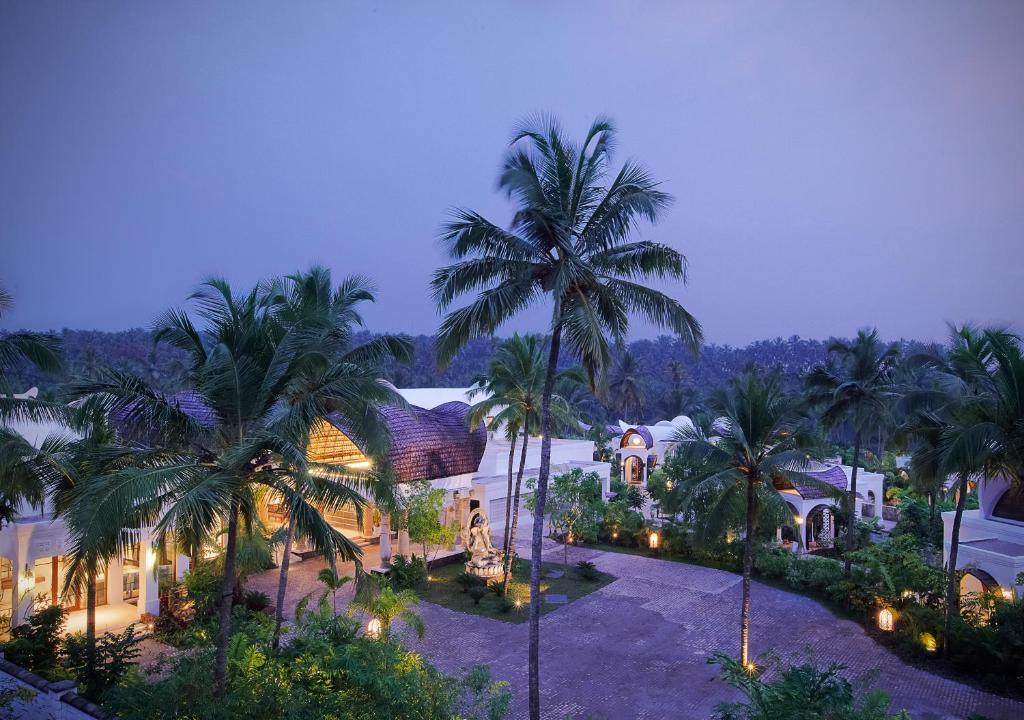 A view of the pool at Taj Bekal Resort & Spa, Kerala or nearby