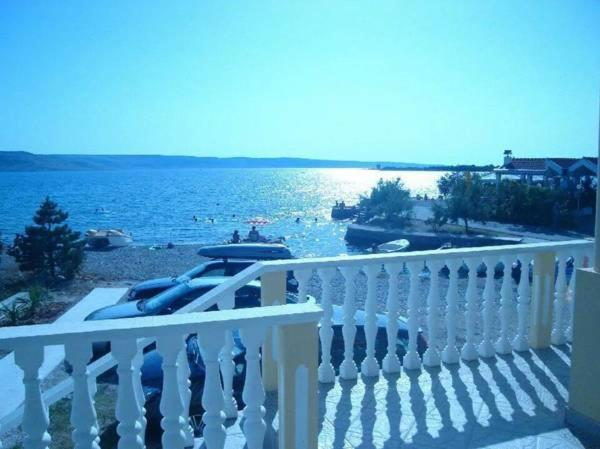 A balcony or terrace at Sani Apartments