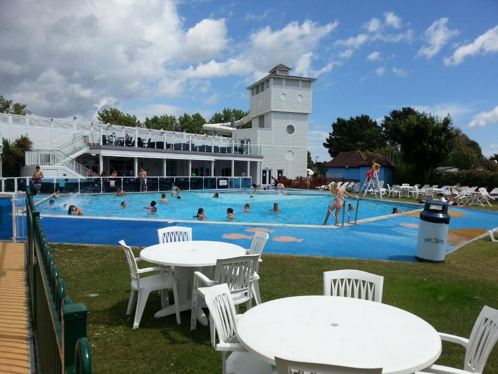 The swimming pool at or near Rockley Park