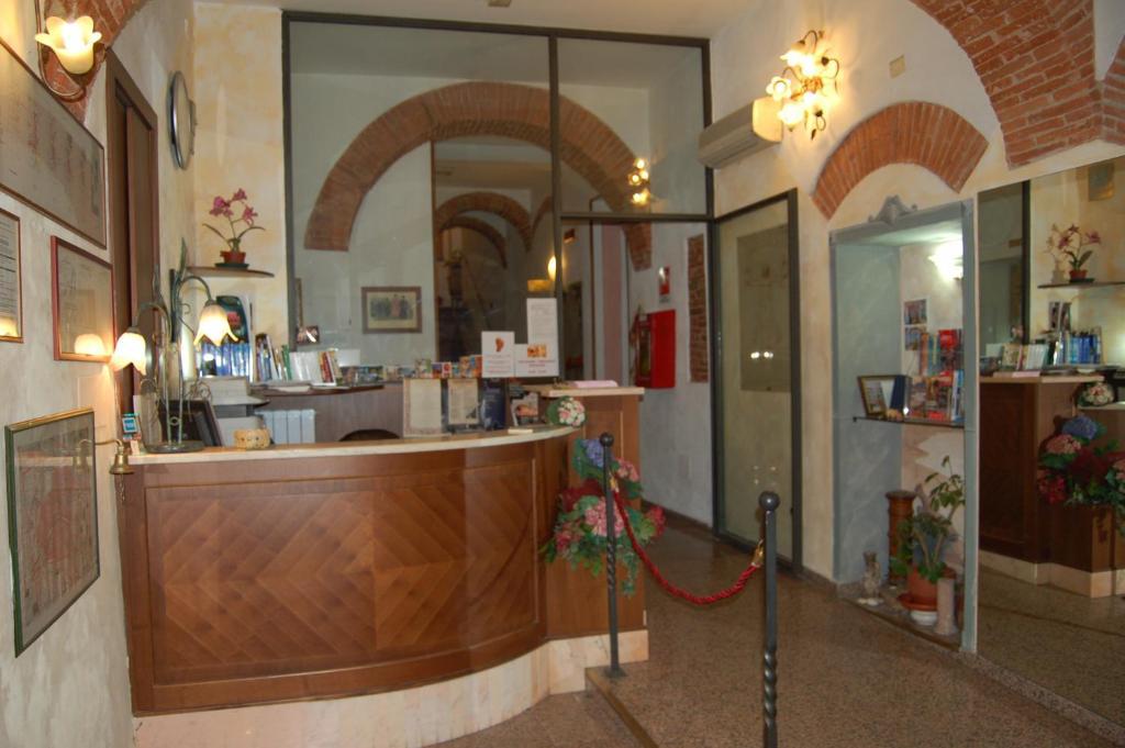 The lobby or reception area at Hotel Leonardo