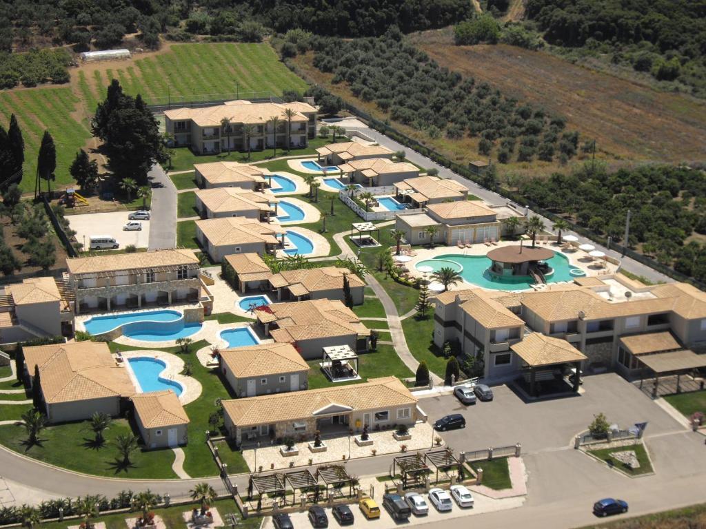 Άποψη από ψηλά του Olympia Golden Beach Resort & Spa