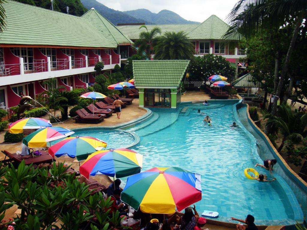 A view of the pool at Cookies Hotel or nearby