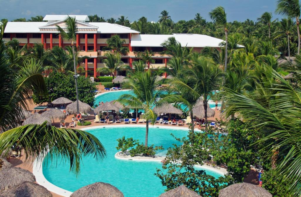 A view of the pool at Iberostar Punta Cana or nearby