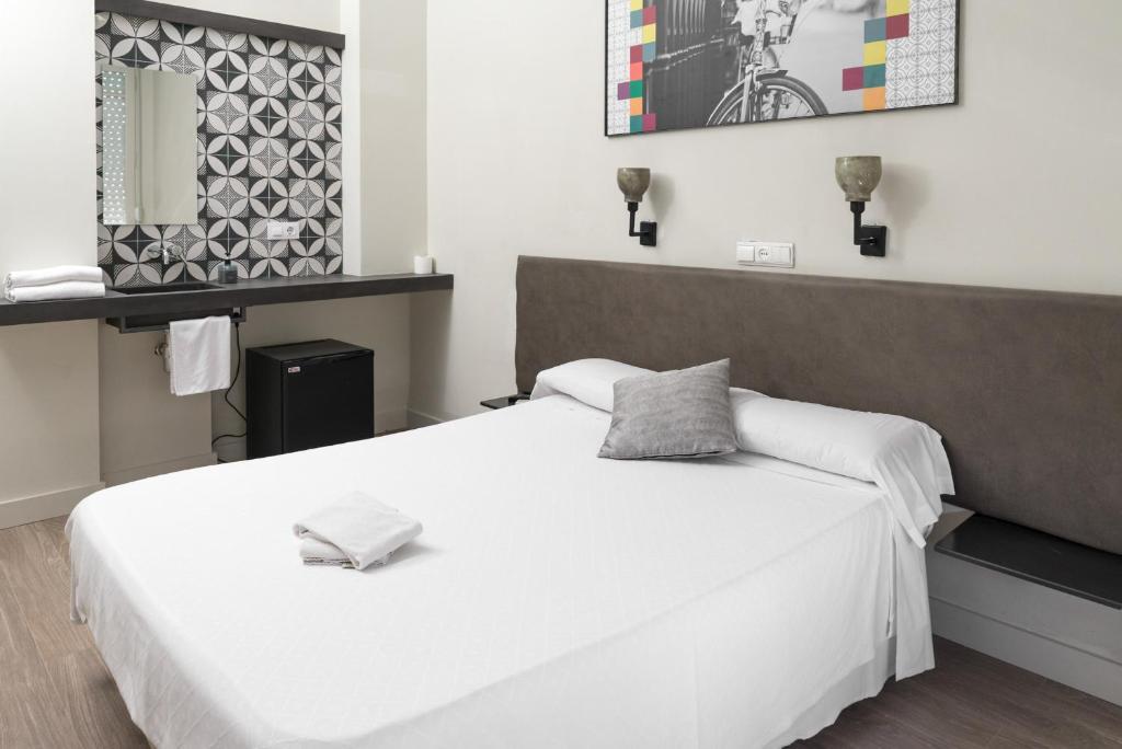 Cama o camas de una habitación en NWT Central Station Valencia