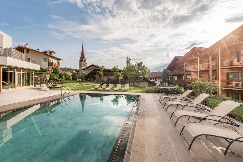 The swimming pool at or near Hotel Gasserhof