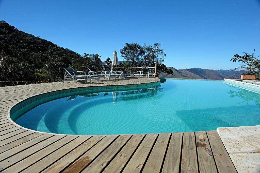 The swimming pool at or near Portal do Equilibrium