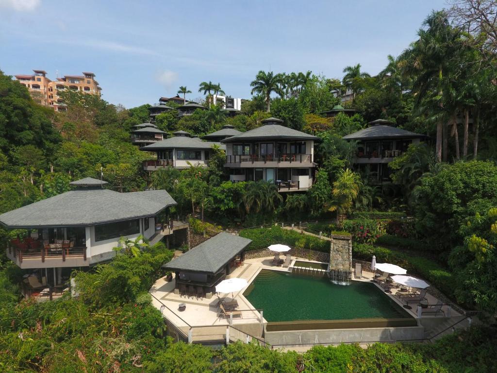 A bird's-eye view of Tulemar Resort