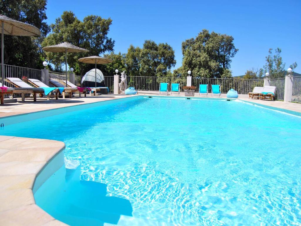 The swimming pool at or near Villa Nais B&B