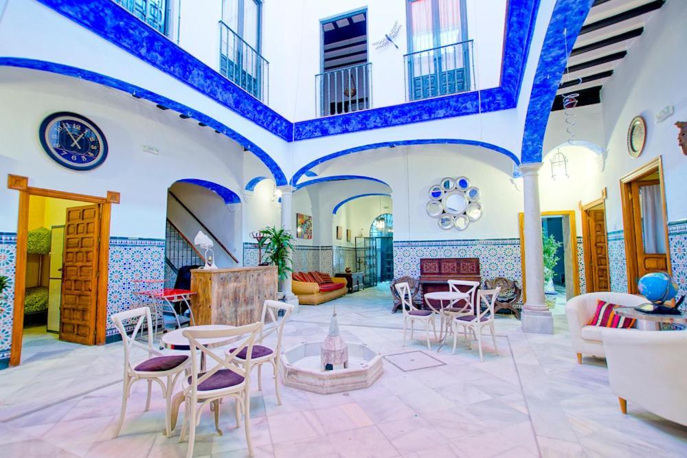 Restaurant ou autre lieu de restauration dans l'établissement Hostel Trotamundos