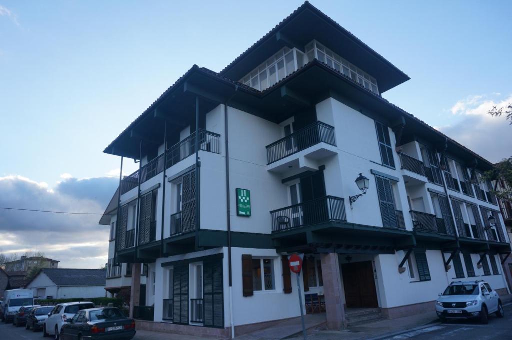 Hotel Elizondo during the winter