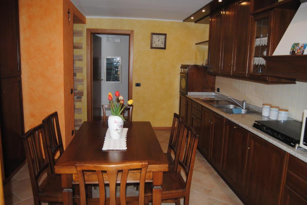 Cucina o angolo cottura di Antea Nuevo Sol B&B