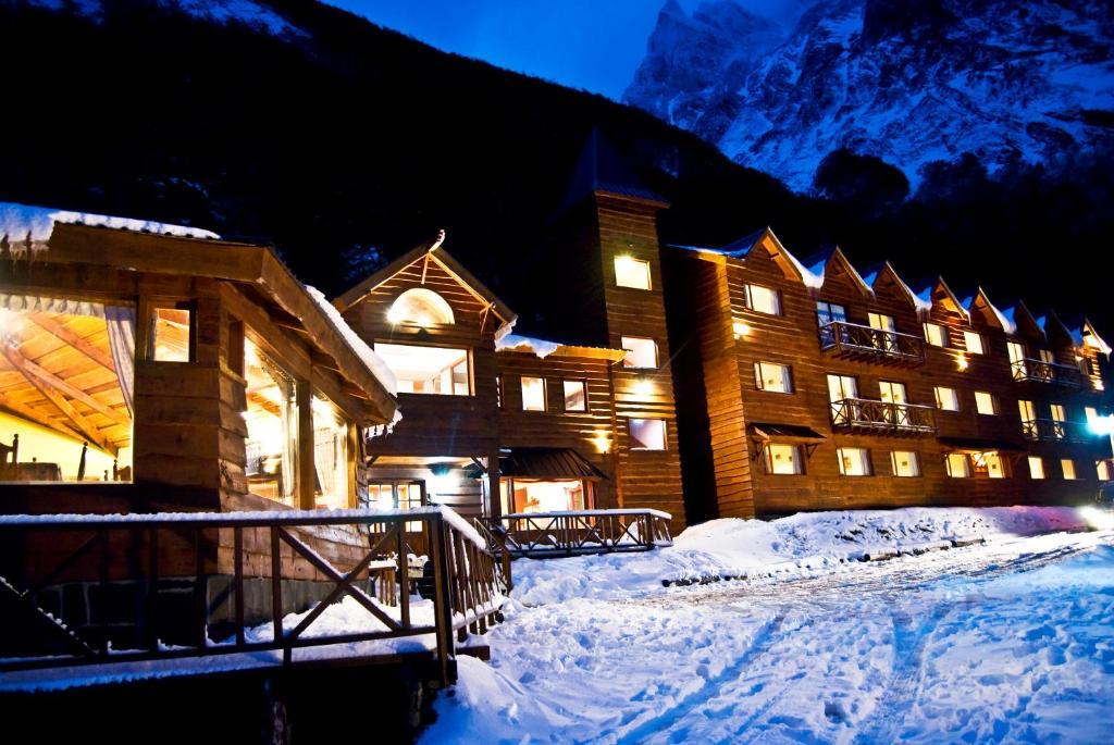 Bagu Ushuaia Hotel during the winter