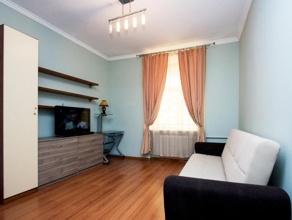 A seating area at ApartLux Park Pobedy 2
