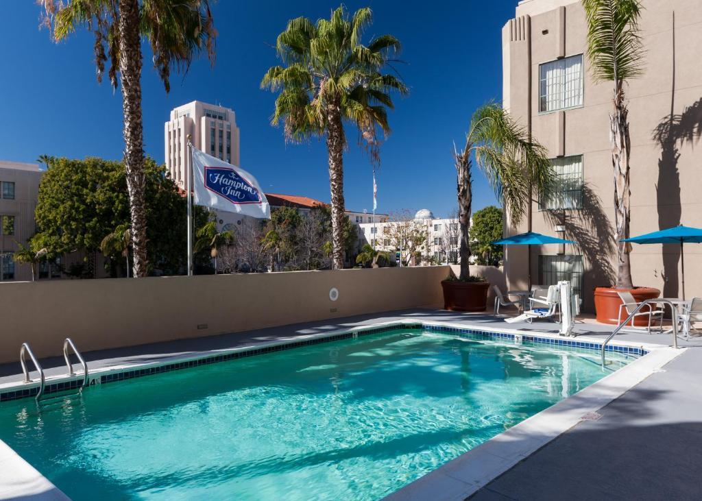 The swimming pool at or near Hampton Inn San Diego Downtown