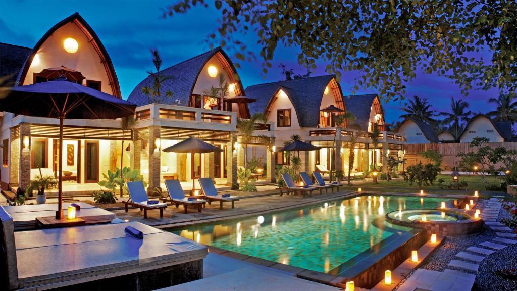 Edificio in cui si trova il resort