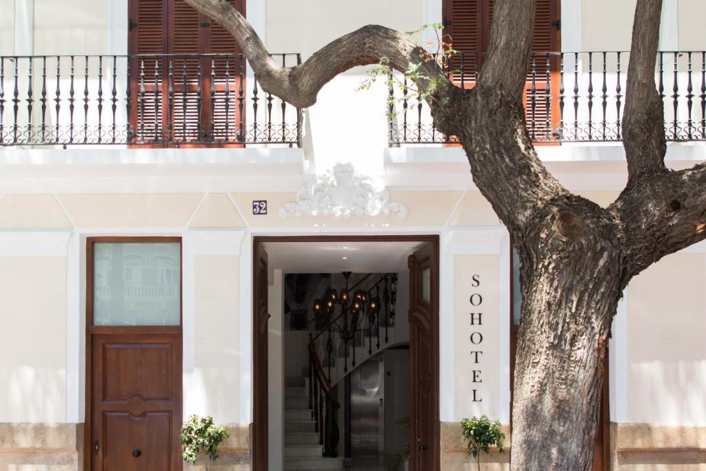 The facade or entrance of Soho Valencia
