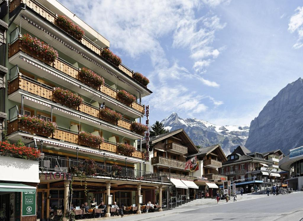 Hotel Central Wolter - Grindelwald during the winter