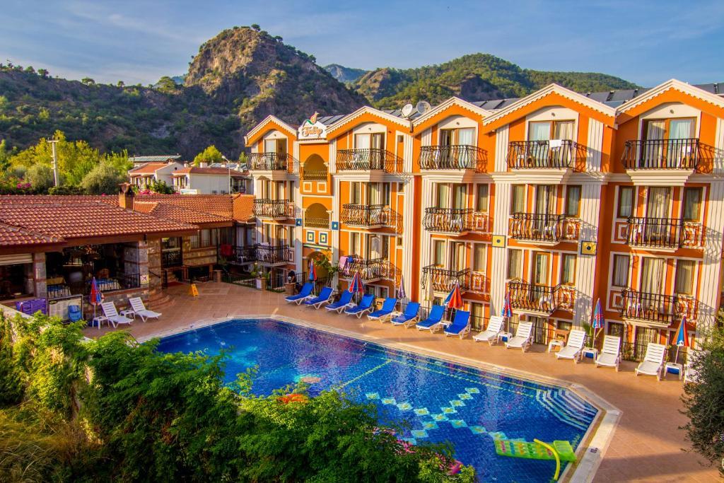 The swimming pool at or near Magic Tulip Beach Hotel