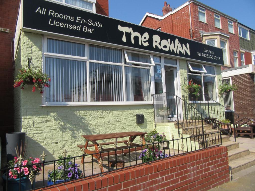 The Rowan Hotel in Blackpool, Lancashire, England