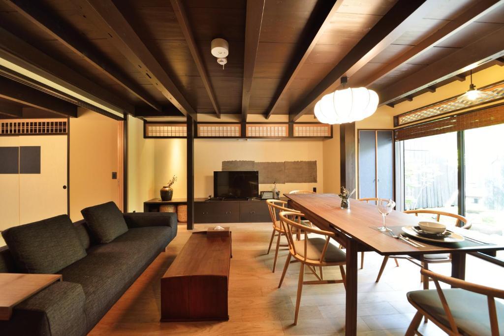 The lounge or bar area at Takeya Kitano Bekkan