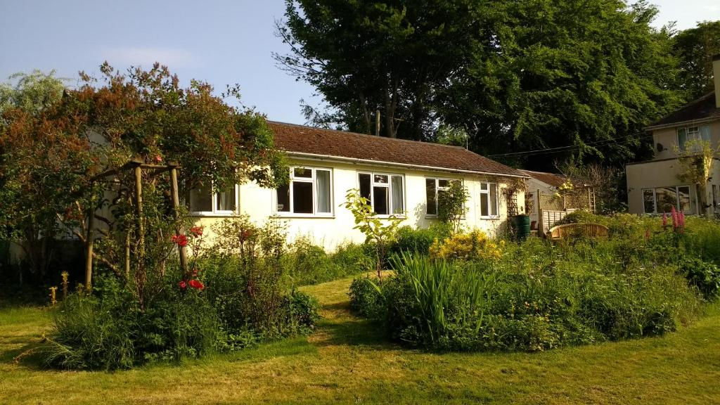 A garden outside Robin Hill Cottage