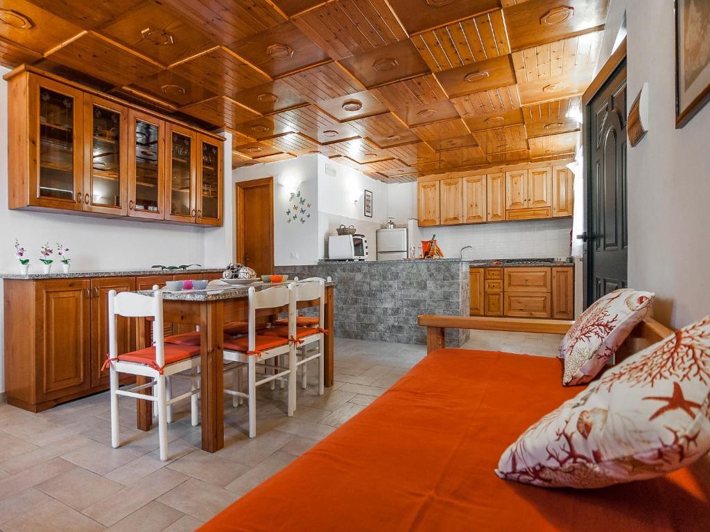 The lounge or bar area at Casa Vacanze Nikita