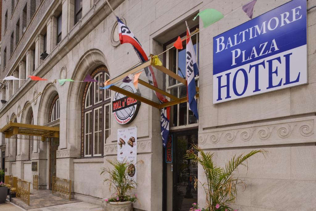 The Baltimore Plaza Hotel.