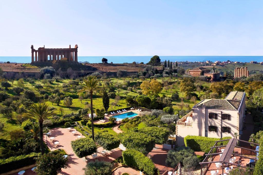 Vista aerea di Hotel Villa Athena