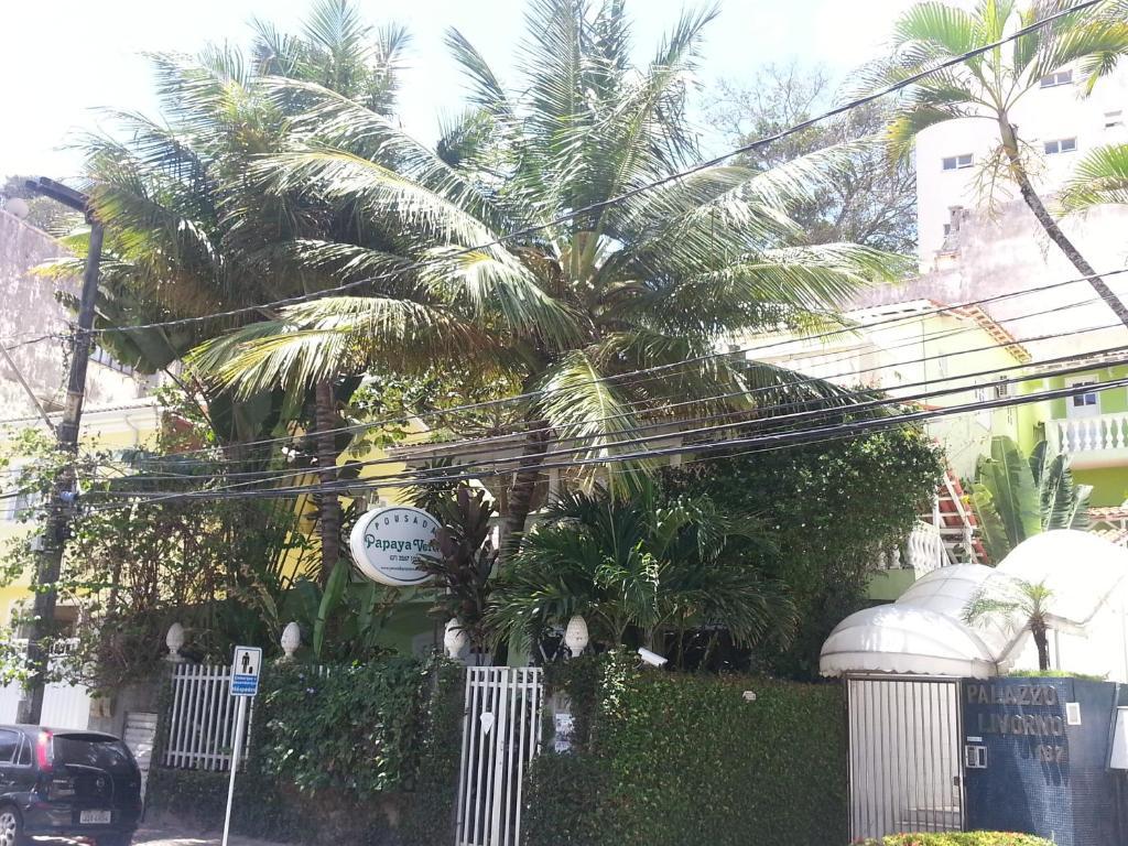 Um jardim em Hotel Pousada Papaya Verde