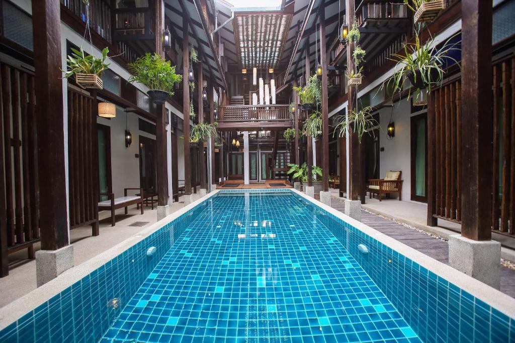 The swimming pool at or near Ban Chang Tong