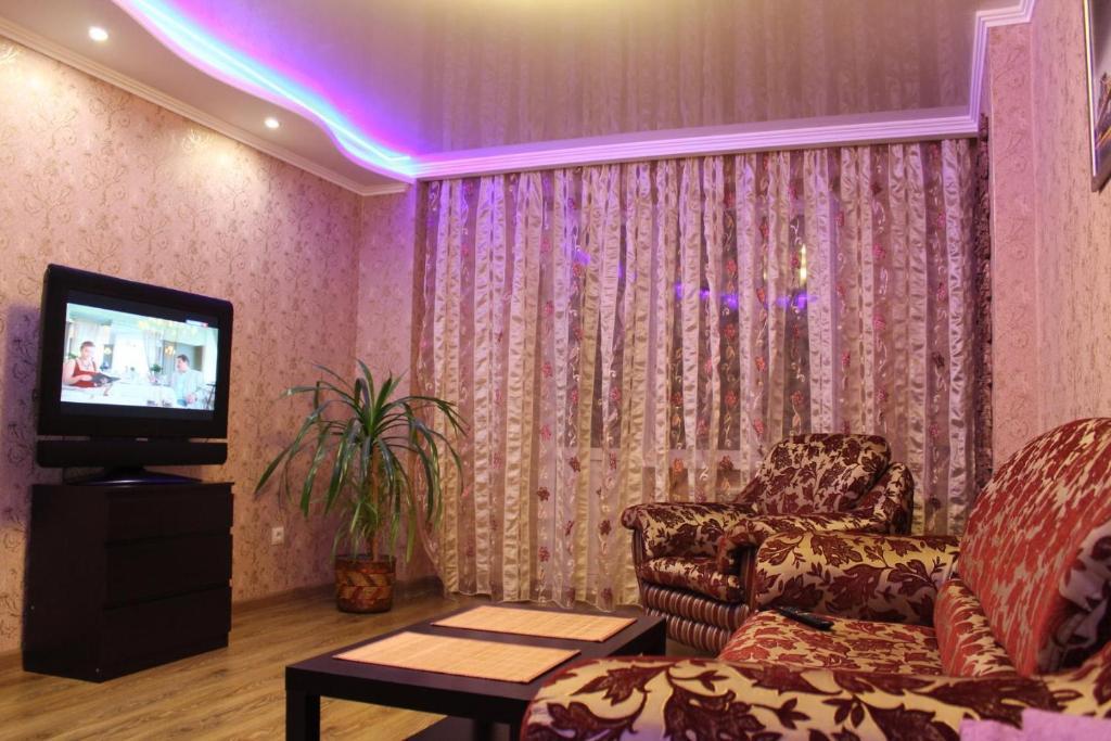 Лаундж или бар в Apartment on Chkalova