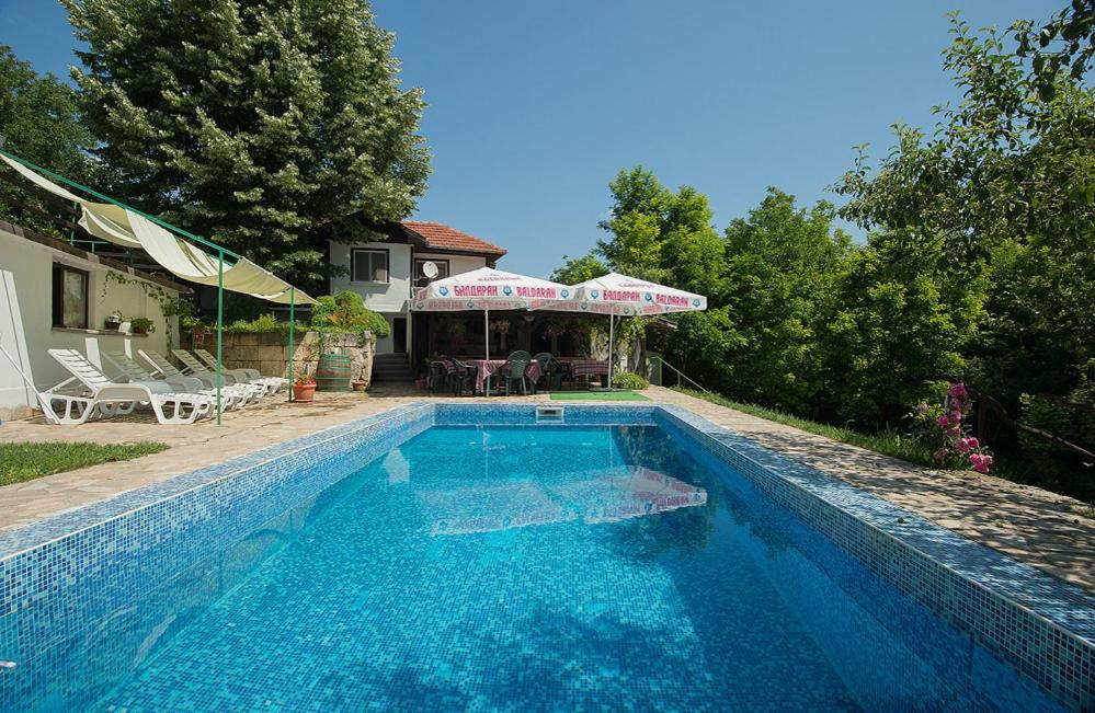 The swimming pool at or near Complex Orehite