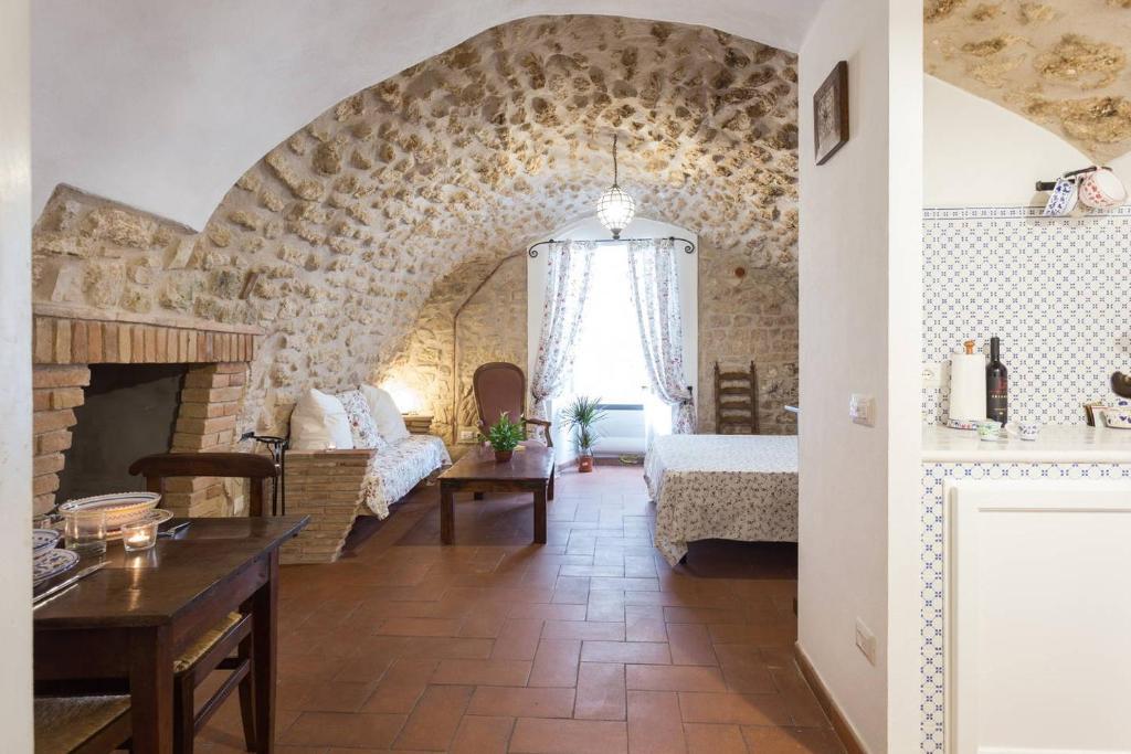 The lounge or bar area at Nel cuore di Narni
