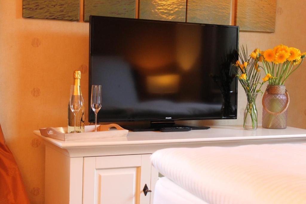 TV/Unterhaltungsangebot in der Unterkunft Ferienhaus Nadja